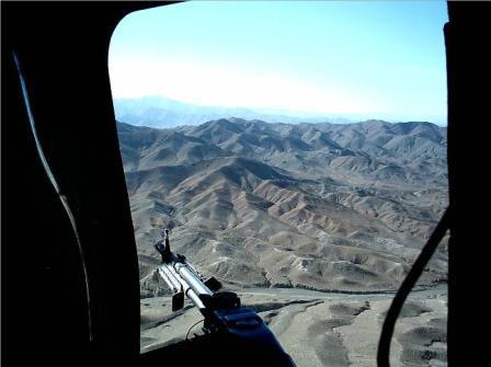 Daytime over Afghanistan